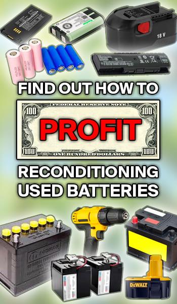 Enter the EZ Battery Reconditioning Program